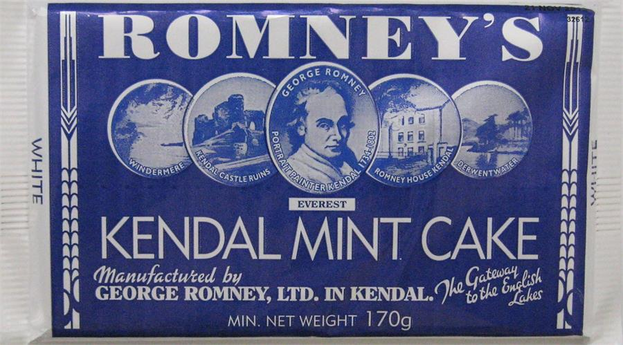 Picture of Romney's White Kendal Mint Cake