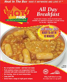 Picture of Hot Pack Action Pack Breakfast Meal