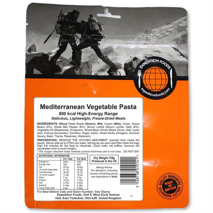 Picture of Expedition Foods Main Meal High Energy Serving