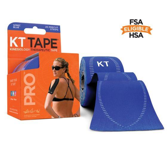 """Picture of KT Tape Synthetic Pro Precut 10"""" (Pack of 20)"""