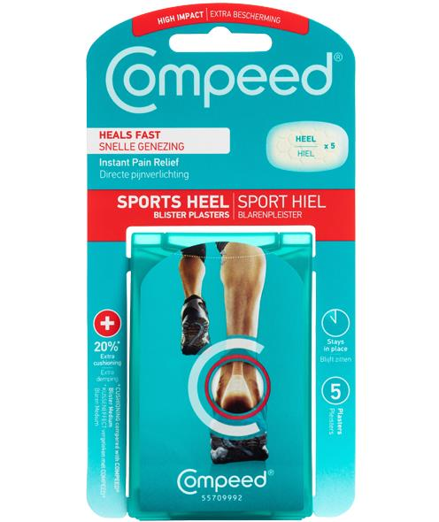 Picture of Compeed Blister Sports Heel 5 pack