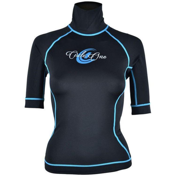 Circle One Lycra Short Sleeve Women's Rash Vest
