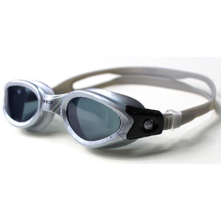 Zone3 Apollo Goggles - Silver / Black - Lens Smoke