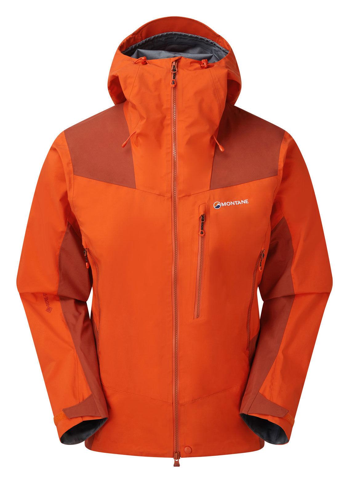 Montane Alpine Resolve Jacket, Firefly Orange, M