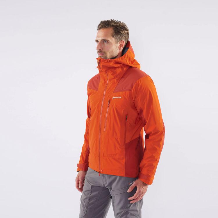 Montane Alpine Resolve Jacket, Firefly Orange, Model