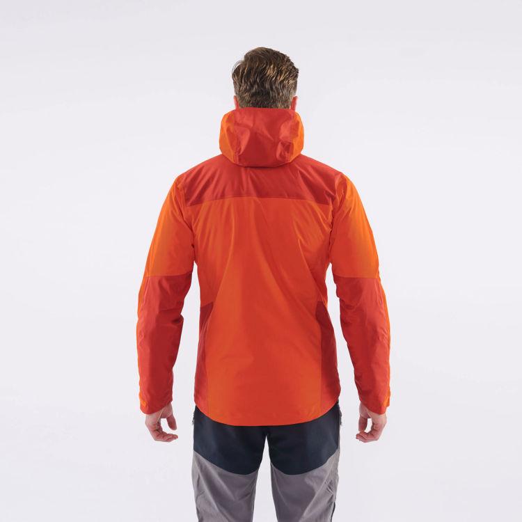 Montane Alpine Resolve Jacket, Firefly Orange, Model Back