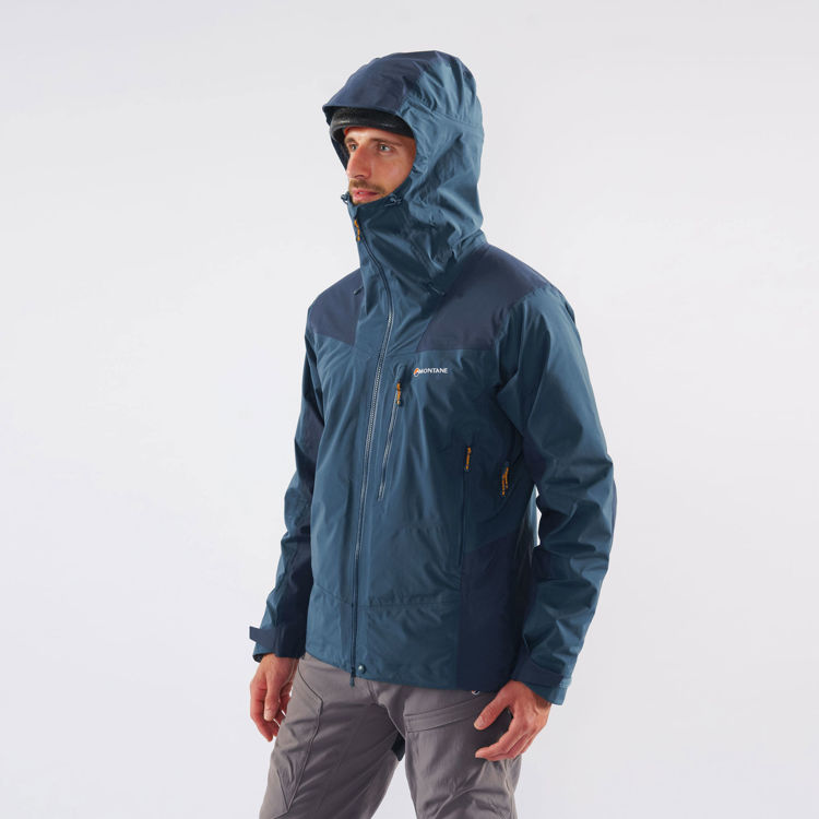 Montane Alpine Resolve Jacket, Orion Blue, Model