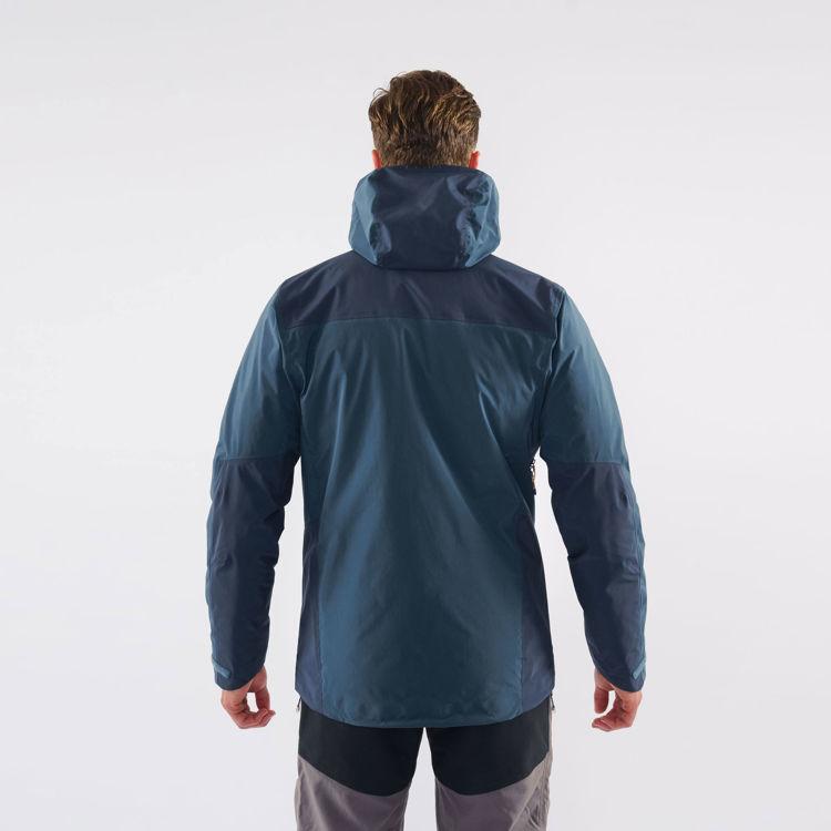 Mens Montane Alpine Resolve Jacket, Orion Blue, Model Back